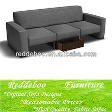 venta al por mayor de muebles sofá de tela duradera 6708#