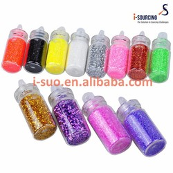 Glitter high quality huge range of colours nail art craft decoration dust