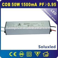 IP67 PF>0.95 5*10*1W waterproof led power supply 1500ma