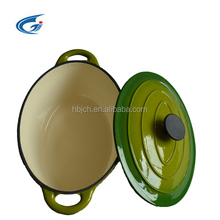 CAST IRON ENAMEL COOKWARE/enamel casserole/enamel pot