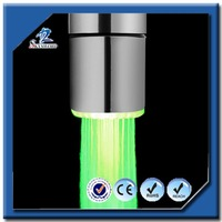 European Style Mini Water Glow Faucet 7 Color Changing LED Automatic Lighting