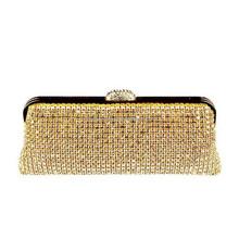 Top Quality Ladies Handbag Rhinestone Crystal Clutch Bag Crystal Evening Clutch Bag Made in China