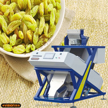 Hot Sale Small Raisins Color Sorting Machine,1 Chute 64 Channels Small Capacity Low Price