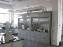 chemical laboratory fume hood with offer ventilation system