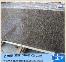 Brown Granite Baltic Brown Polished Small Random Edge Slab