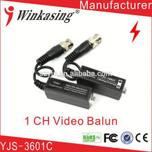 coaxial Security product video balun transformer simple installation