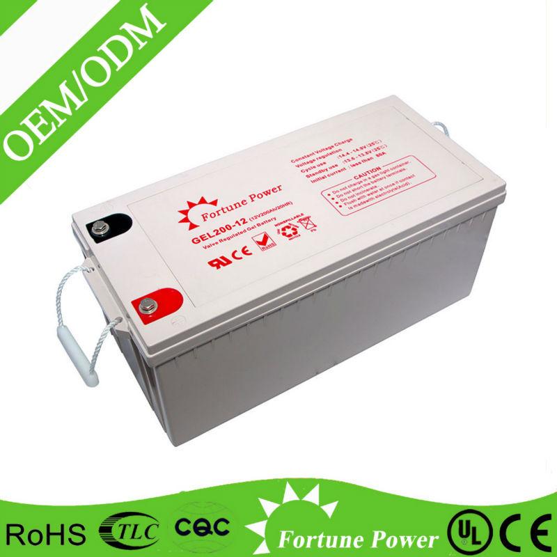12v 200ah deep cycle rechargeable solar gel battery buy. Black Bedroom Furniture Sets. Home Design Ideas