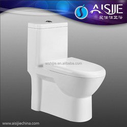A3123 Bathroom Stylish Gloss White Toilet Pan Including Cistern Short Projection WC Soft Close Seat