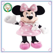 Wholesale Child toy minnie mouse plush stuffed toy
