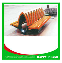 double side bench long bench street leisure bench for sale