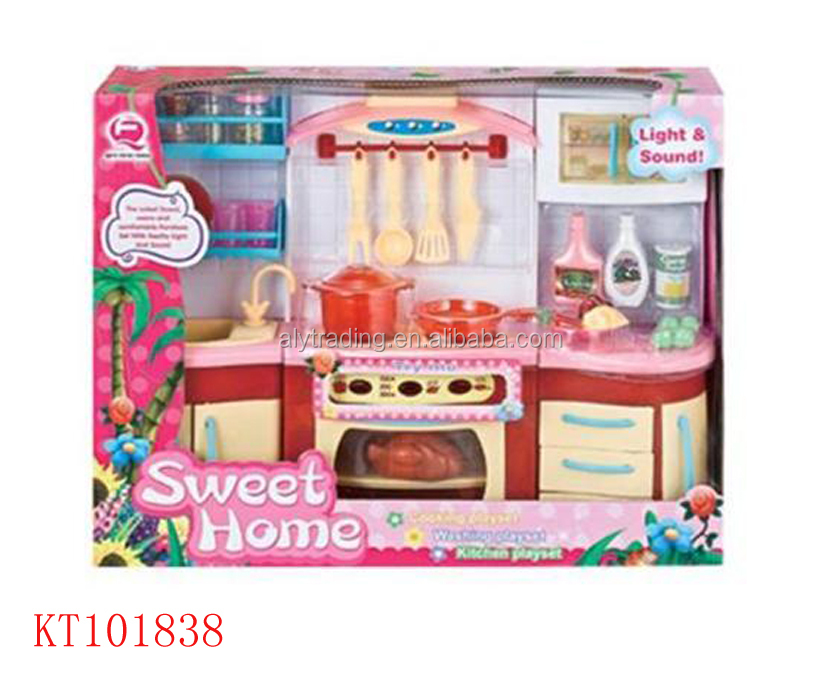 Farah toys hot sale new design kids kitchen set toy double for Kitchen set video song