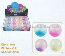 55mm Hi Glitter Led Bouncing Crystal Water Ball