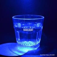 From GMTlight 10oz Blue Light Up LED Plastic Mark Glass