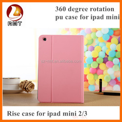 For ipad mini 3 pu leather cases new arriving in Alibaba