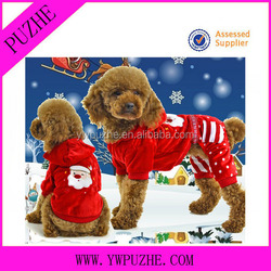 Lovely and Cute dog winter christmas clothes/ dog christmas sweater