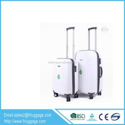 24 inch White Eminent Trolley Luggage