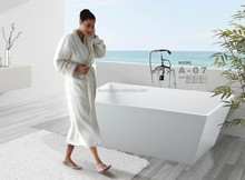 Hot selling low price soft freestanding acrylic bathtub
