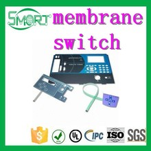 Smart Bes high quality push button switches one key membrane switch one button membrane switch manufacturer