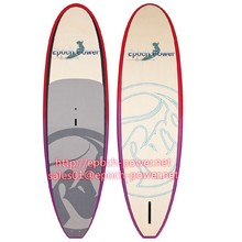 Hight quality eps foam, cheap bamboo SUP boards ,stand up paddle board