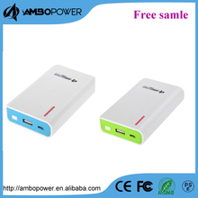 solar 6000mah capacity mobile power banks charger for iphone 6