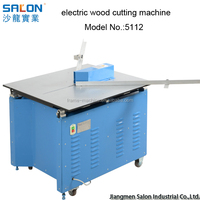 precisely industrial electric wood cutting machine