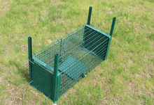 Collapsible Make Live Animal Bird Cage Trap Cage with two entry Diffrent Sizes