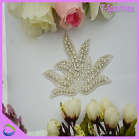 Wholesale China Glass Beaded Appliques For Shoes Factory