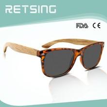 legno naturale di colore dom occhiali fatti a mano su ordinazione logo di legno per la vendita