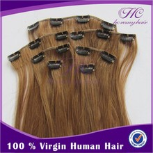 The Most Popular Products Natural Blonde Clip In Hair Extensions For Women