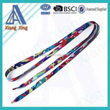 YiWu factory silkscreen sublimation printing custom colored shoelace charm