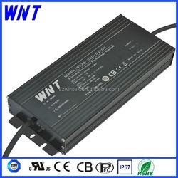 For 300W 100V- 277V input led street light high bay light black aluminum case UL CB TUV Waterproof IP67 ac dc power supply