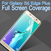 soft screen protector for S6 edge plus full cover edge, best selling screen guard film for S6 edge plus