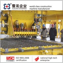 Concrete plant equipment; precast concrete elements plant