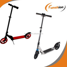 Adjustable and fold kick scooter with 200mm PU wheel customized scooter