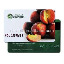iso 14443a para imprimir mf s50 nxp en blanco tarjetas de rfid para venta al por mayor