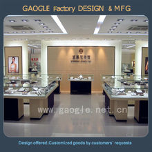 high end retail store fixture design for jewelry store display