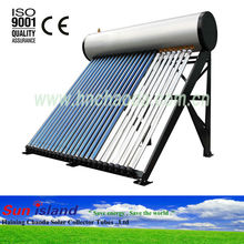 High Pressure Heat Pipe Tube Solar Hot Water Heater System