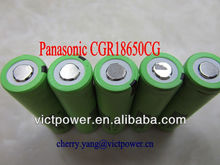 panasonic 18650 CGR18650CG 2200mAh 3.7V batteries cells rechargeablecgr18650 battery 18650 li ion battery