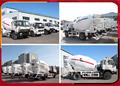 China nueva mezcla de hormigón camión con jiefang / Foton / T-king / Dongfeng chasis