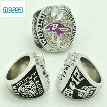 CR-20439 NFL championship ring jewelry four league 2012 Baltimore Ravens