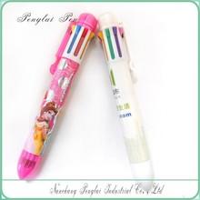 2015 Hot Promotional Eight color plastic ballpen Branded Multi-color ballpen, 8 color ballpoint pen