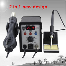 Digital 8586 2 in 1 Lead Free SMD Hot Air Soldering Machine for Solder