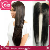 Cheap Virgin Brazilian Hair Closure Piece Free Parting 3 Way Part Full Lace Closures Add 40 Can make Silk Base Closure