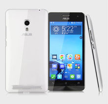 Ultra thin Transparent crystal clear hard case cover for asus zenfone 5