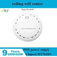high power 300mbps indoor wireless ceiling n ap router