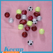 Promotional Gifts Funny Novel Soccer Rugby Basketball Round Shape Compressed Beach Hand Towel