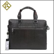 High-end men's business briefcase bag genuine leather men handbag