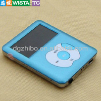 High Quality Support various audio formats And FM Radio Small Mp3 Player