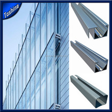 Structures Aluminium For Building Curtain Wall Profile