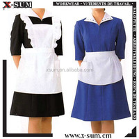 Polyester Workwear Uniforms for Women Cleaning
